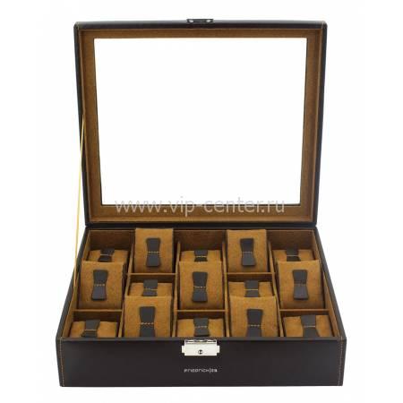 Шкатулка для хранения 15 часов Friedrich Lederwaren от Champ Collection 20111-3
